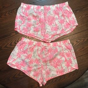 NWOT Lot of 2 Printed Victoria's Secret Shorts